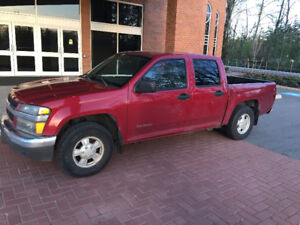 2004 Chevrolet Colorado Pickup Truck Crew Cab