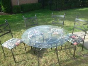 Dining Set Wrought Iron