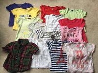 Girls bundle 1-2 tshirts