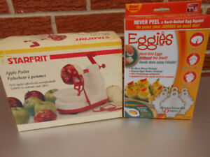 Eggies Egg Cooker / Apple Peeler Combo