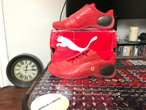 PUMA Racing Shoes ( Ferrari Edition) 2 pairs only worn twice