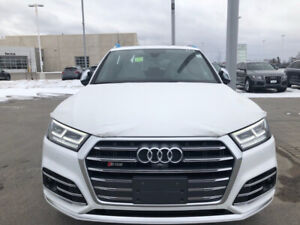 2018 Audi sq5 for sale new never seen snow fully loaded red inte