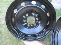 4---17 in Ford Steels---6 x 135mm