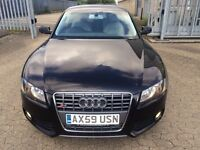 2010 Audi A5 Tfsi Automatic Coupe Long Mot Cream Leather Alloys Px Welcome