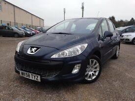 Peugeot 308 1.6 HDI 110 SE FAP 6-SPEED (blue) 2008