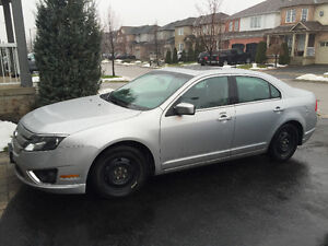 2010 Ford Fusion SEL Sedan Siliver for Sale