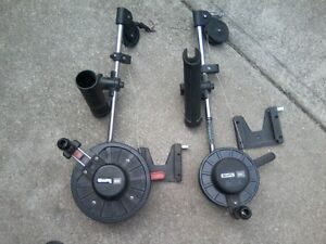 2- Scotty Manual downriggers with mounts $70 each