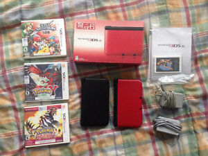 TWO 3DS XL + GAMES - Great gift for 1 or 2 people