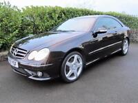 Mercedes-Benz CLK320 CDI 7G-Tronic AMG Sport Obsidian Black