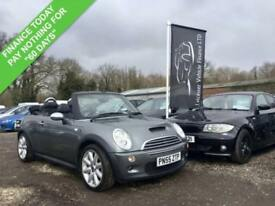 2005 55 MINI CONVERTIBLE 1.6 COOPER S 2DR 168 BHP