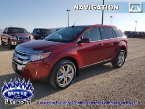 2013 Ford Edge Limited   Navigation - Leather