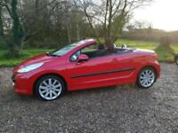 Peugeot 207 CC 1.6 THP 150 Coupe GT - 2 Door Convertible Red - Nice Sports H/Top