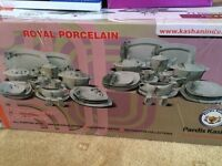 Royal Porcelain Dinner Set