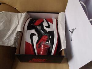 Air Jordan 1 Black Toe - Size 14