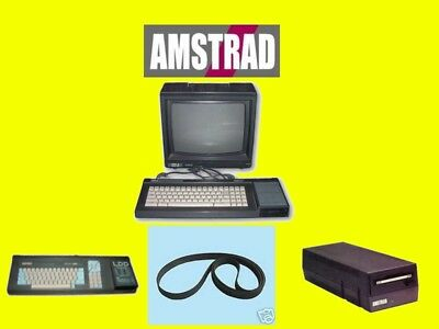 ► Courroie AMSTRAD CPC 6128 664 6128+DDI-1 Belt + Notice