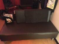 Reception sofa.