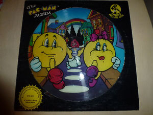 THE PAC MAN ALBUM--PHONO PICTURE DISC LIMITED EDITION London Ontario image 1
