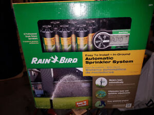 RainBird Inground Automatic Sprinkler System