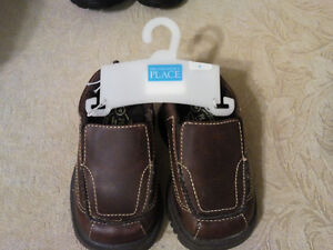 Baby dress shoes brown.