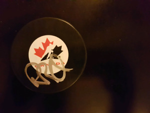 Rob Blake Autographed Puck For Sale