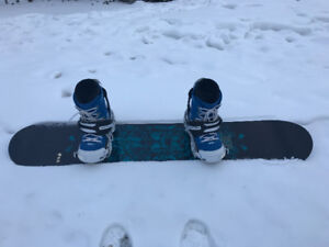 162 mens wide board with bindings size 12 boots