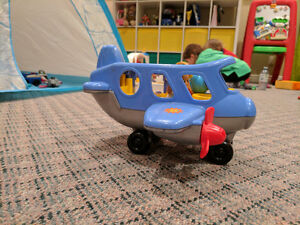 Little People BUS AND AIRPLANE Cambridge Kitchener Area image 2