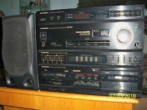 Système de son modulaire Pioneer RX 510 année 1991