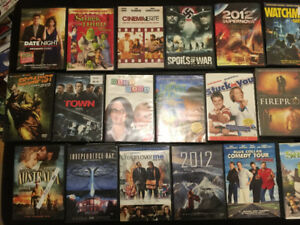 50 DVDs - selling as a lot