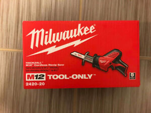 2420-20 Milwakee M12™ HACKZALL® Recip Saw