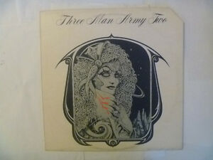 THREE MAN ARMY LPs - 2 to choose from