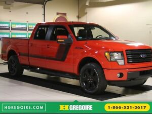 2014 Ford F150 FX4 4WD AUTO CUIR A/C MAGS BLUETOOTH