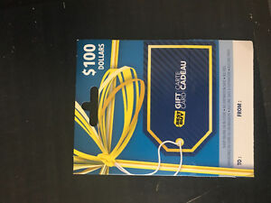 Selling $100 dollar best buy gift card for 80$ Pick up only