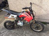 140cc M2R Pit bike Dirtbike Pitbike Akuma Stomp Project Cheap Quad!!