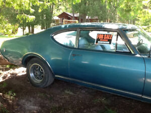 NOW WHO'S INTERESTED! - 1968 Oldmobile F85  - 2 Door Post