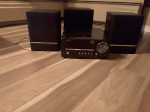 Home theatre system with iPod dock!