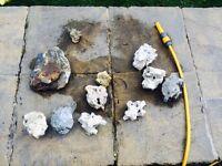 Lava rocks for aquarium