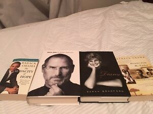 Biography Books, the four for $15!