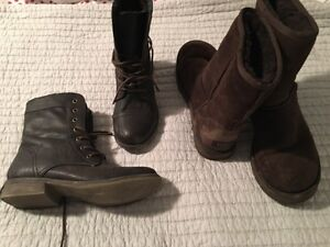 Ugg boots/lace up boots