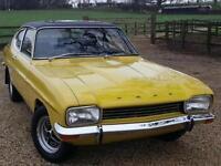 1974 FORD CAPRI 1.6 GT THIS CAPRI 1.6 GT HAS JUST HAD A BARE METAL REPAINT