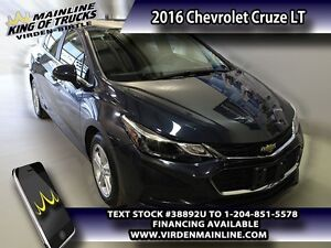 2016 Chevrolet Cruze LT  - $134.86 B/W - Low Mileage