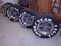 4 MAGS AMERICAN RACING ET 4 PNEUS GOODYEAR EAGLE