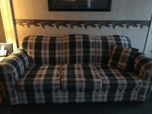 Matching sofa and chair