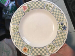 Noritake salad plates. Set of 6. Used. $25 for all 6