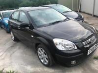 2009 (09 reg) KIA RIO 1.4 Black 5dr Hatchback Petrol 5 Speed Manual