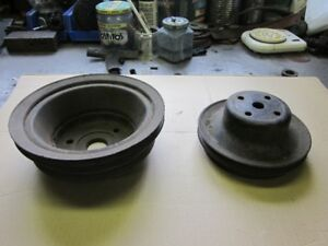 Chevrolet A/C pulleys