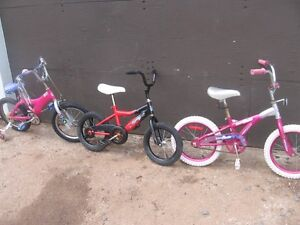 "8 KID'S BIKES ""ONLY"" $20.00 DOLLARS EACH. [FIRM]"