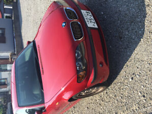 CLASSIC 2003 BMW RED JAPAN RHD IMPORTED!!!!PRICE REDUCED!!!!