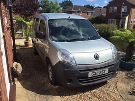 Renault Kangoo 1.4 diesel WAV with only 4,200 miles