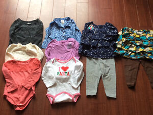 18 and 24 month girl winter clothes
