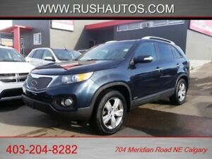 2013 Kia Sorento EX-V6 -AWD, Leather, V6